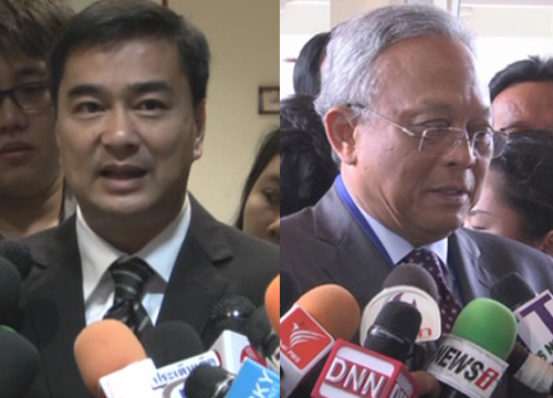 Abhisit-Suthep to fight for their case