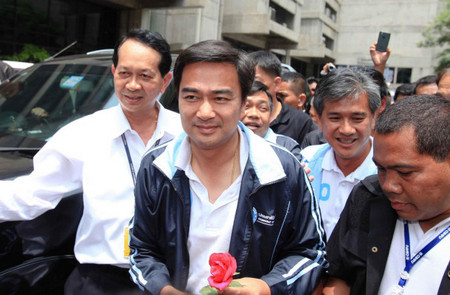 Abhisit: Democrat not hurt by BKK governor candidate selection
