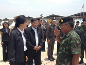 Yingluck orders monitoring red zones