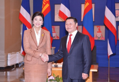 Thailand and Mongolia aim to double trade in next 3 years