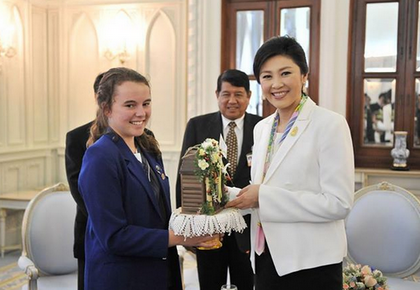 PM meets and greets NZ cultural exchange students