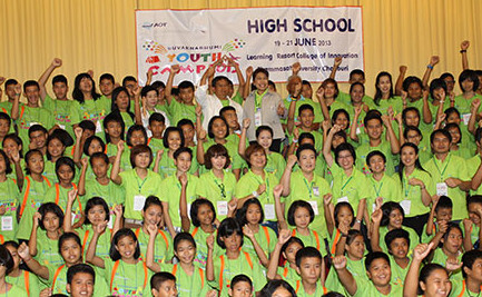 Suvarnabhumi Youth Camp 2013 to promote sufficiency economy