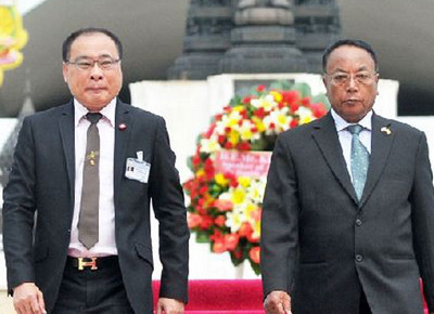 Myanmar house president visits Thailand