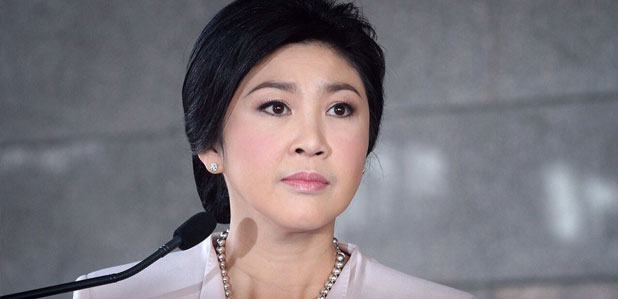 PM Yingluck Shinawatra condemns the use of violence