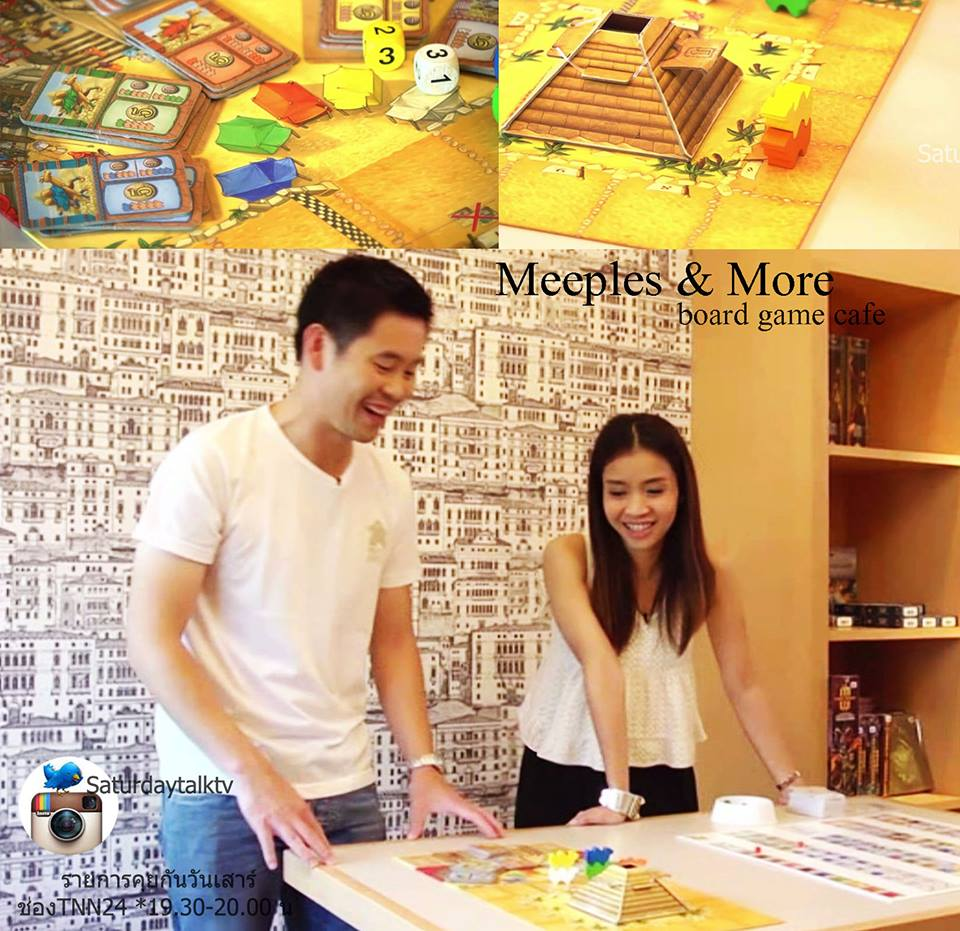 Meeples & More' Board Game Cafe